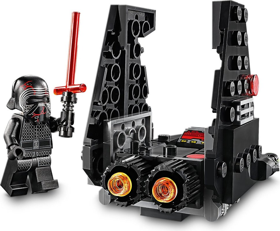 Kylo Rens Shuttle™ Microfighter components