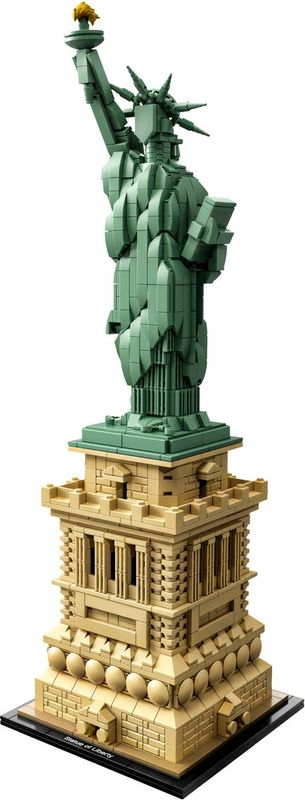 LEGO® Architecture Statue of Liberty components