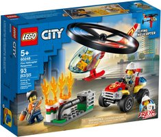 LEGO® City Fire Helicopter Response