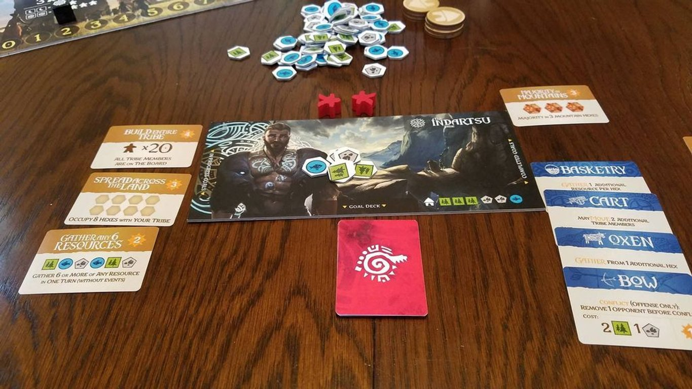 Rise of Tribes components