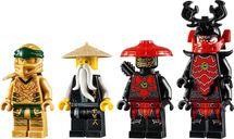 Golden Mech minifigures