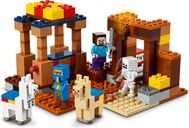 LEGO® Minecraft The Trading Post gameplay