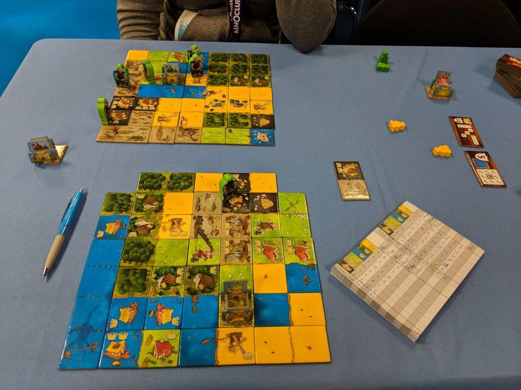 Kingdomino: Age of Giants gameplay