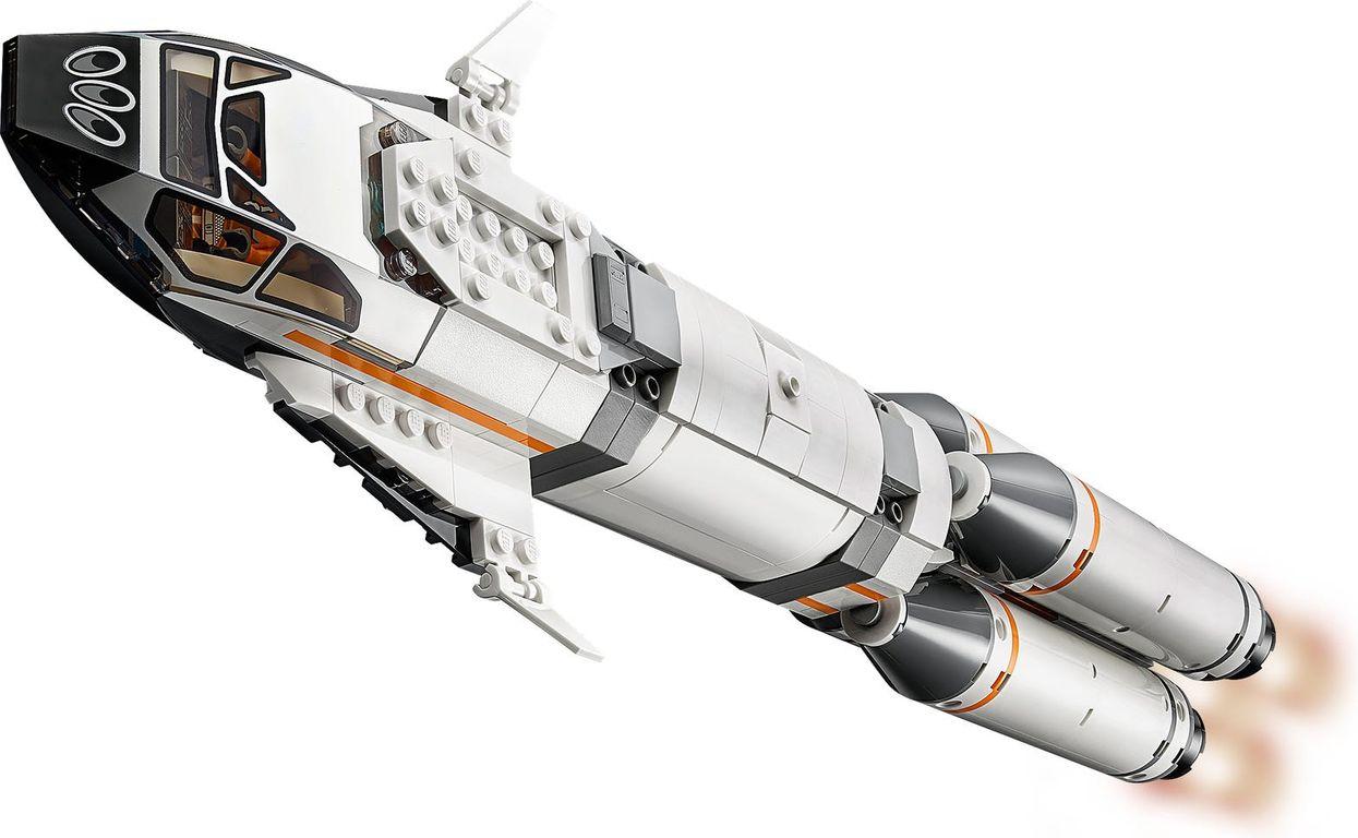 LEGO® City Rocket Assembly & Transport components