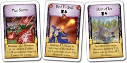 Castle Panic: The Wizard's Tower cards