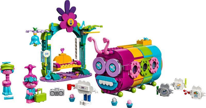 Rainbow Caterbus components