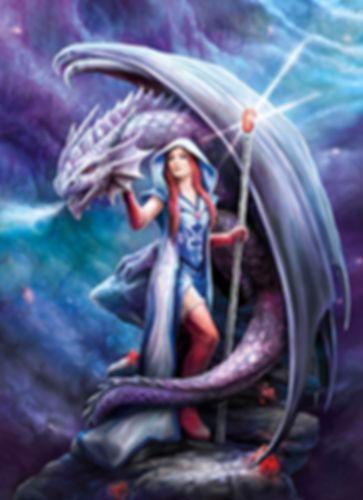 Anne Stokes: Dragon Mage