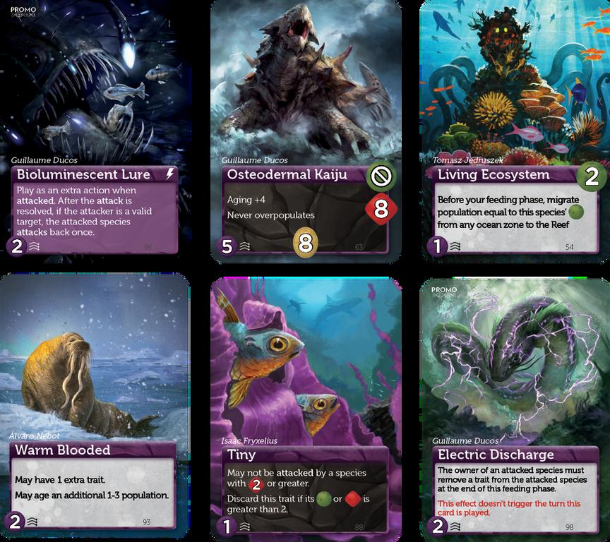 Oceans cards