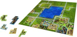 Cities: Skylines - The Board Game tiles