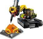 LEGO® City Volcano Exploration Base components
