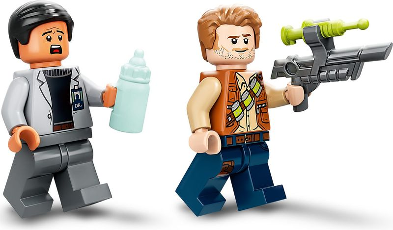 Dr. Wu's Lab: Baby Dinosaurs Breakout minifigures