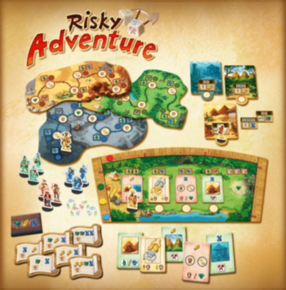 Risky Adventure components