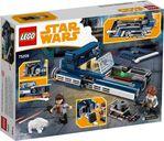 LEGO® Star Wars Han Solo's Landspeeder™ back of the box