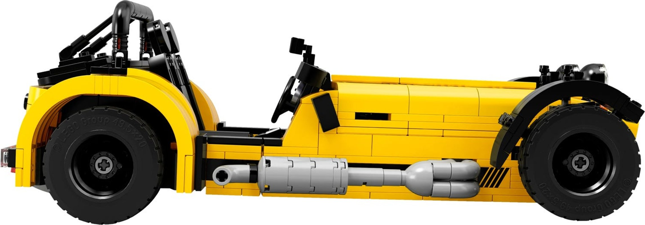 Caterham Seven 620R components