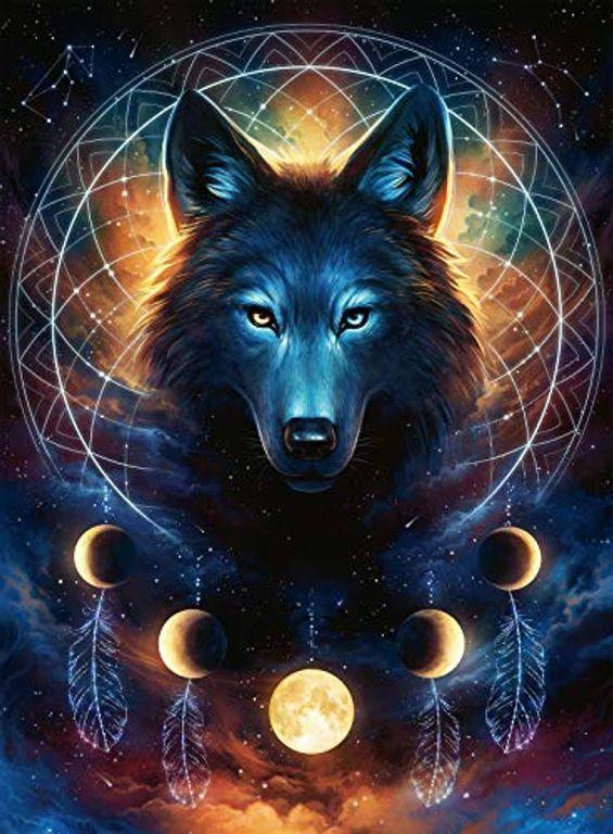 Luminous Wolf