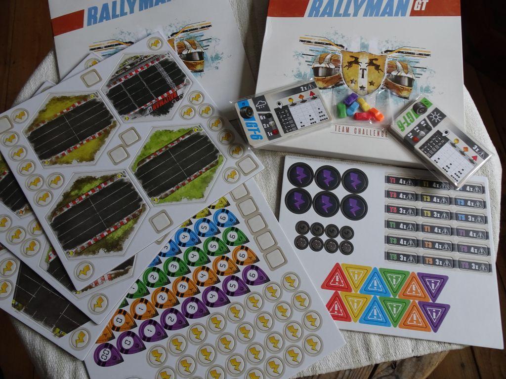 Rallyman: GT - Team Challenge components