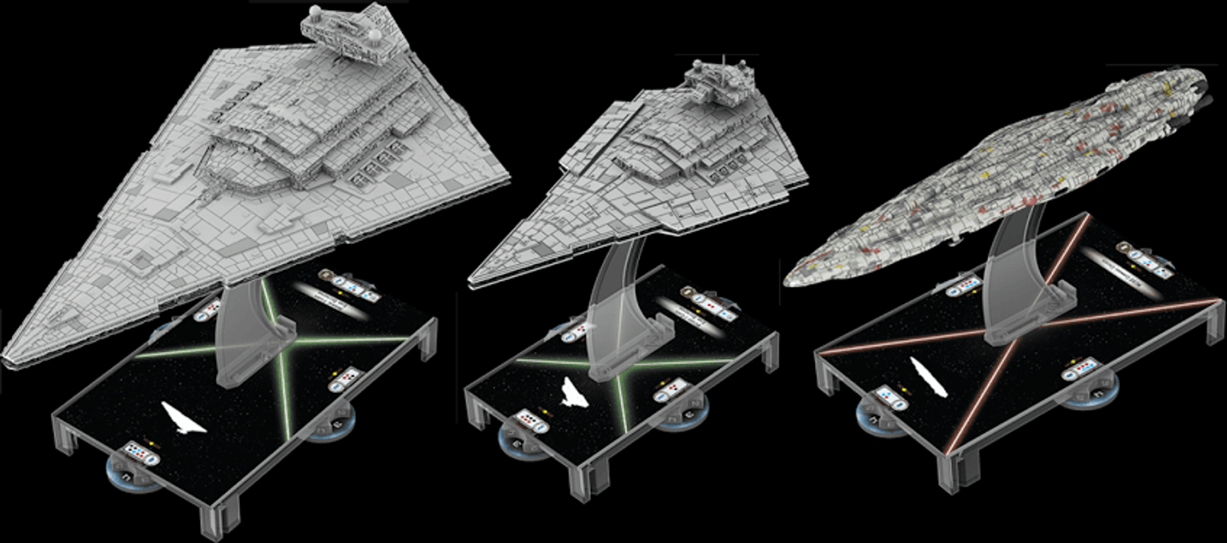 Star Wars: Armada - Home One Expansion Pack miniatures