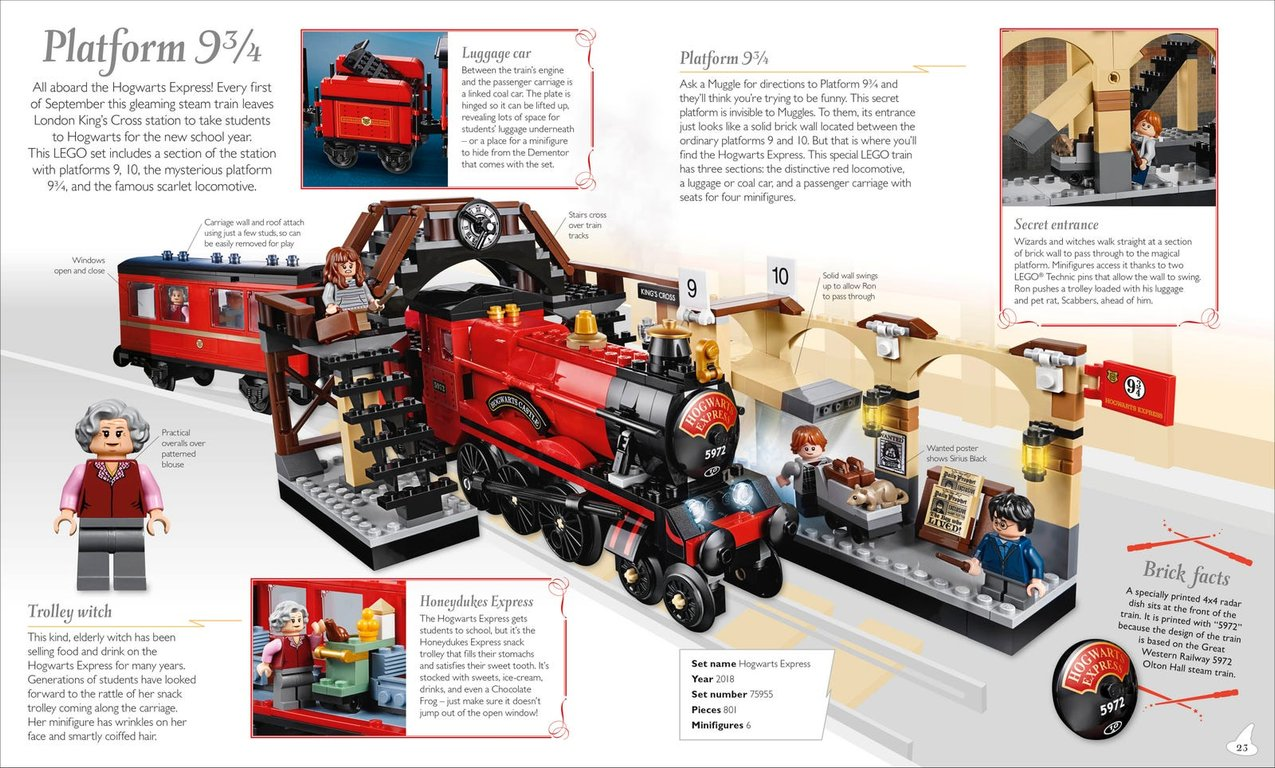 LEGO® Harry Potter™ Magical Treasury book