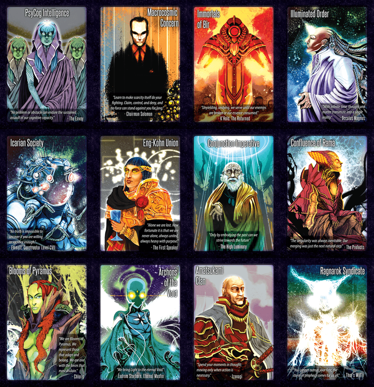 Hegemonic cards