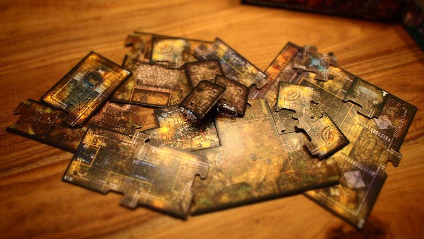 Descent: Journeys in the Dark (Second Edition) - Mists of Bilehall tiles