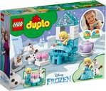 Elsa and Olaf's Tea Party back of the box