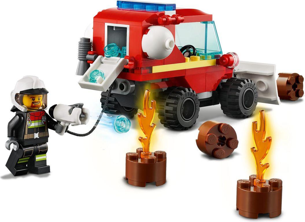 LEGO® City Fire Hazard Truck gameplay