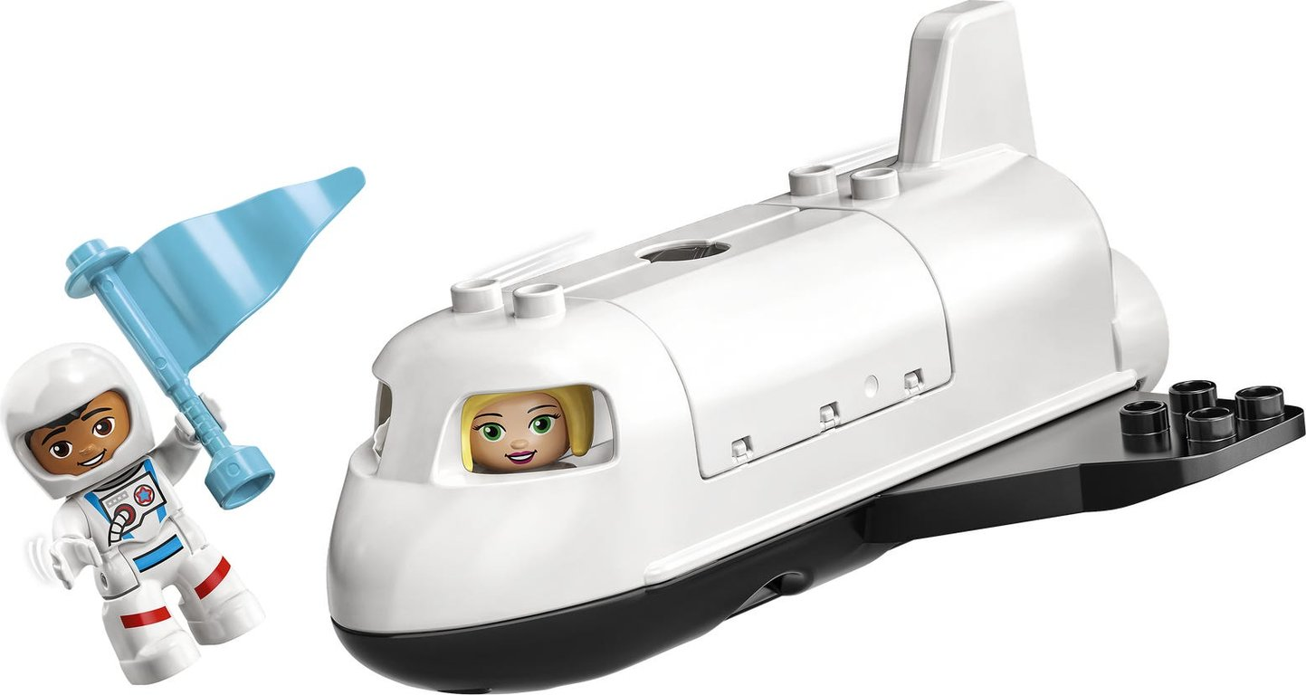 LEGO® DUPLO® Space Shuttle Mission components