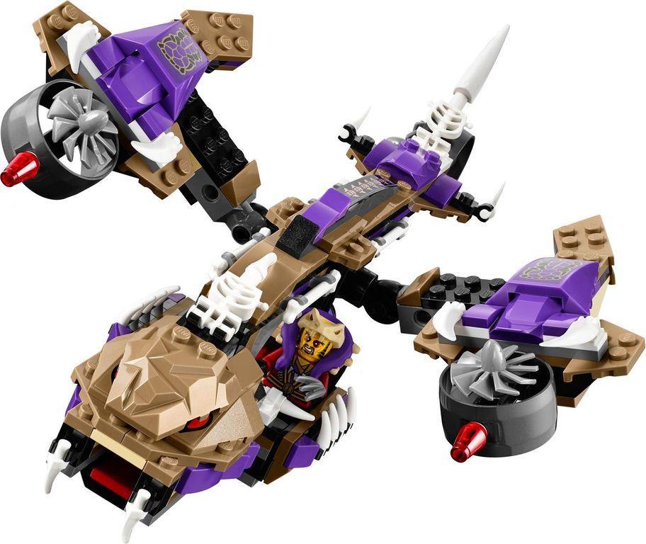 LEGO® Ninjago Condrai Copter Attack components