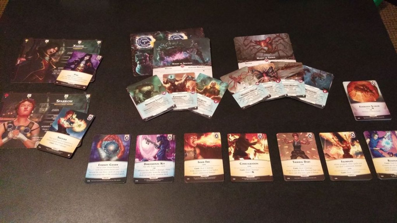 Aeon's End: The Void cards