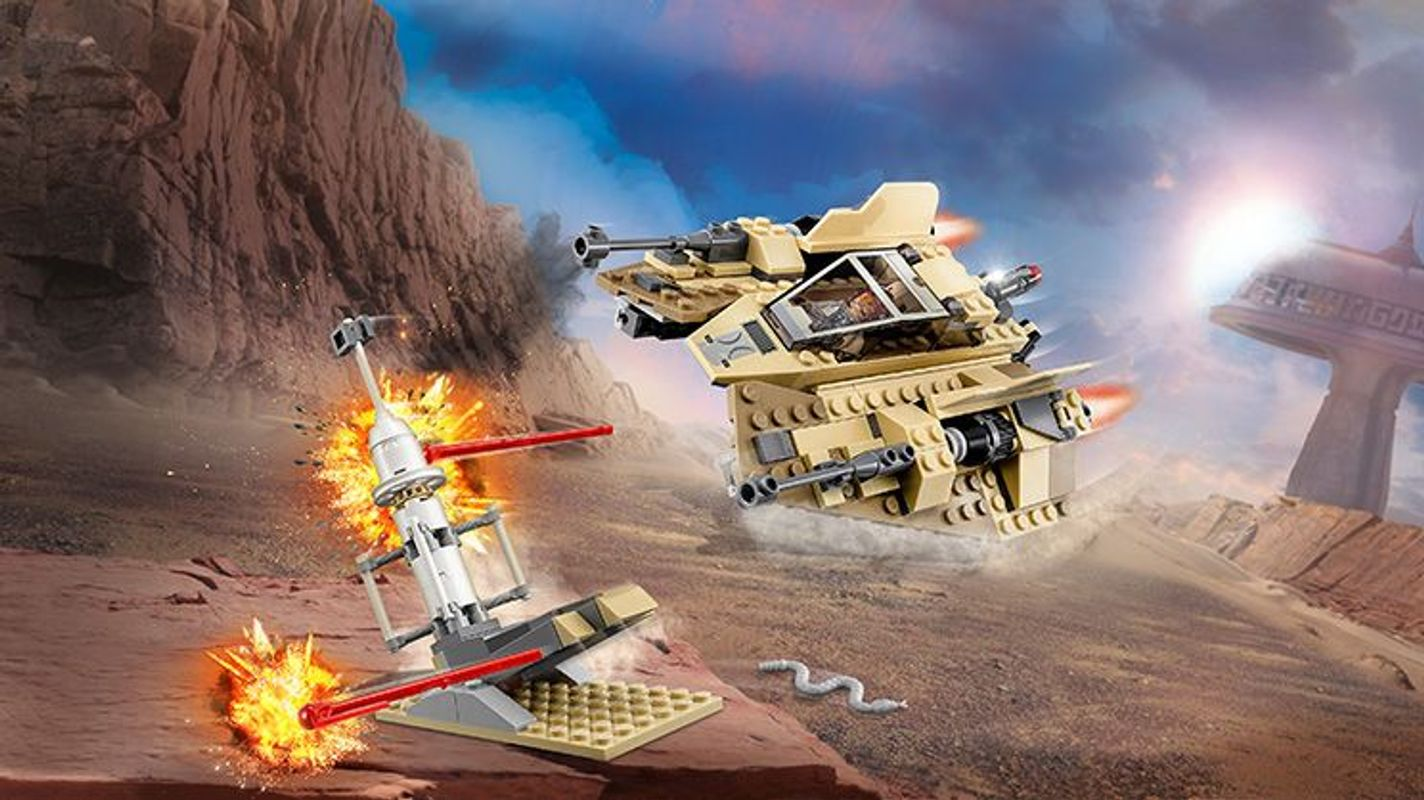 Sandspeeder gameplay