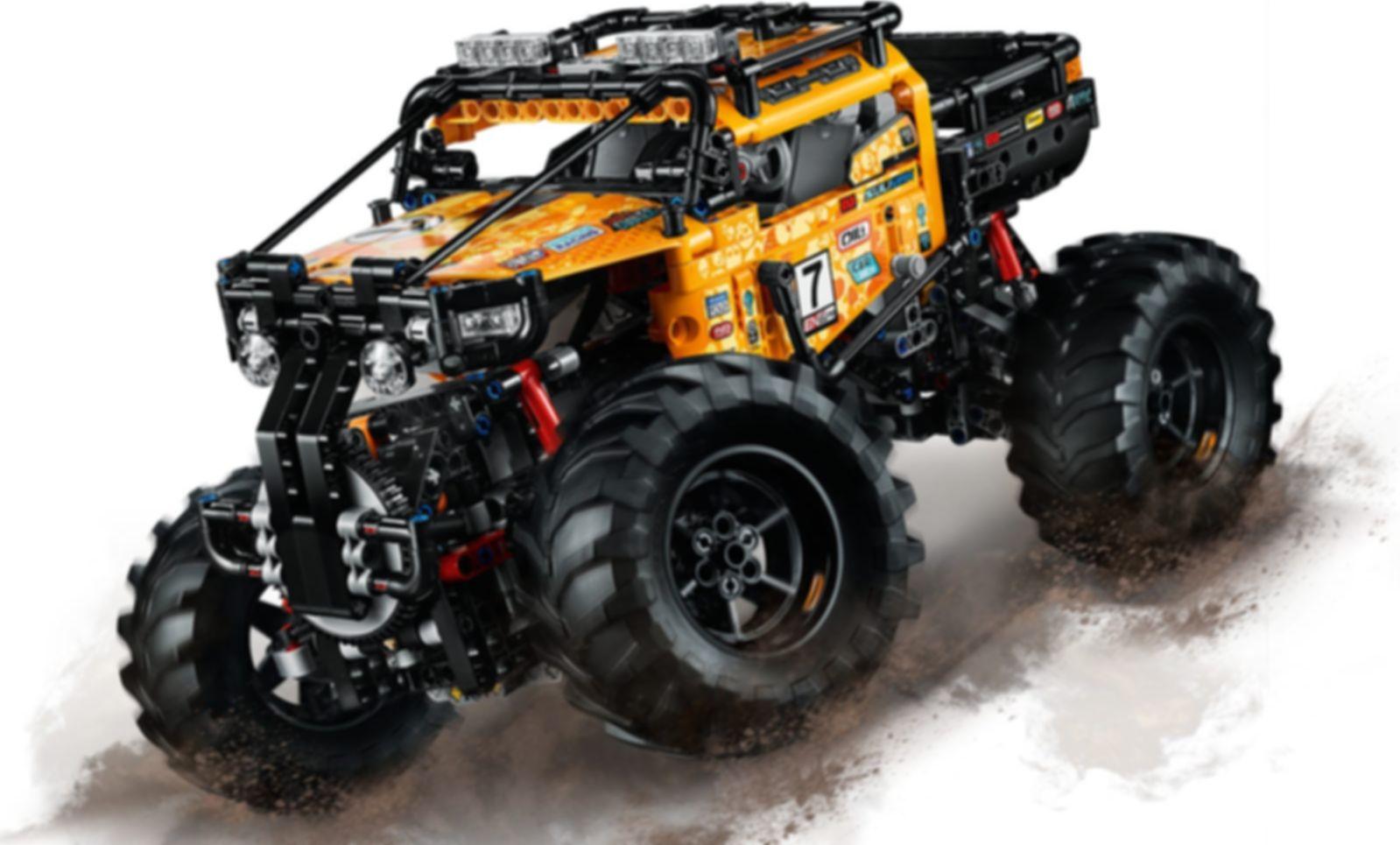LEGO® Technic 4x4 X-treme Off-Roader gameplay