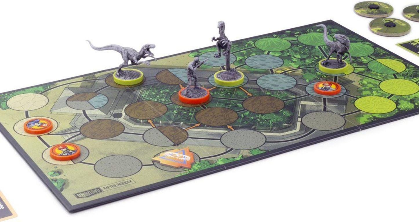 Unmatched: Jurassic Park - InGen vs Raptors components