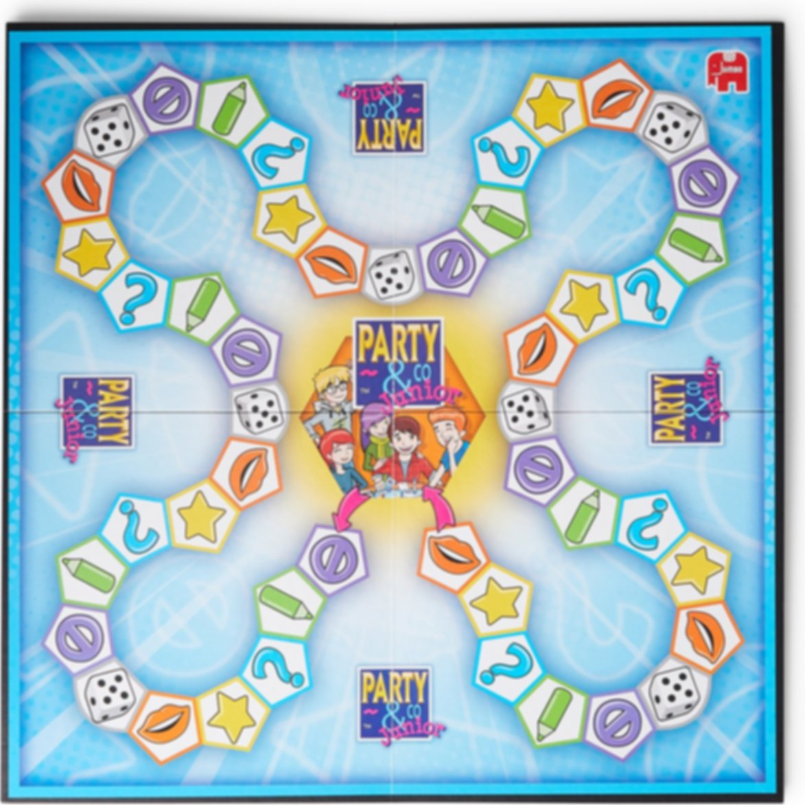 Jumbo Party & Co Junior game board