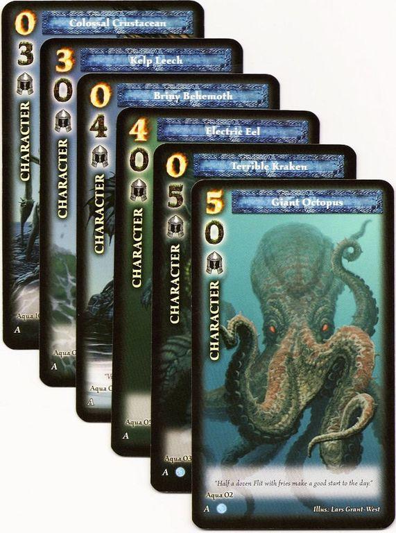 Blue Moon: The Aqua cards