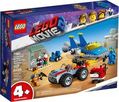 LEGO® Movie Emmet and Benny's 'Build and Fix' Workshop!