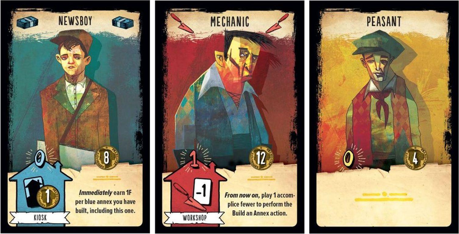 The Bloody Inn cards
