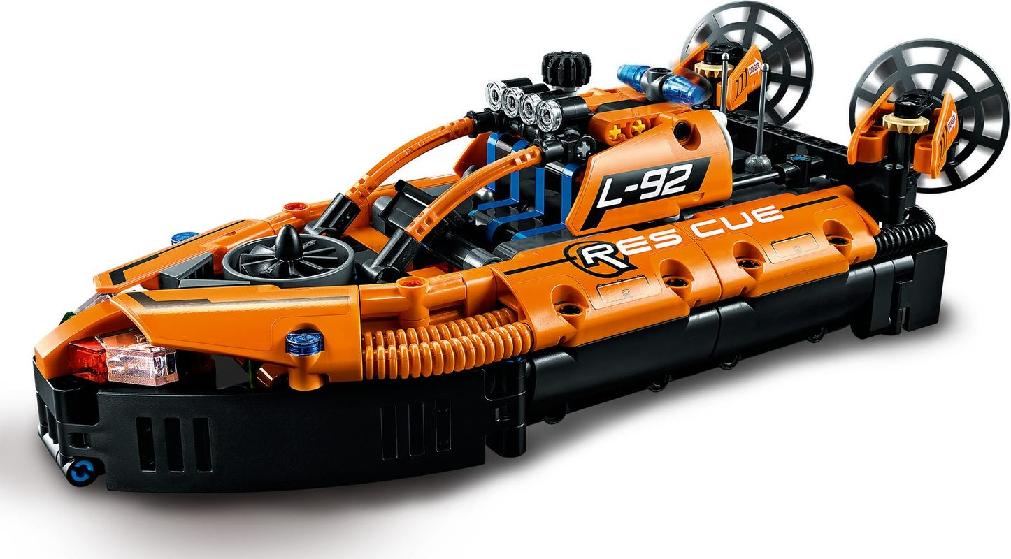 Rescue Hovercraft components