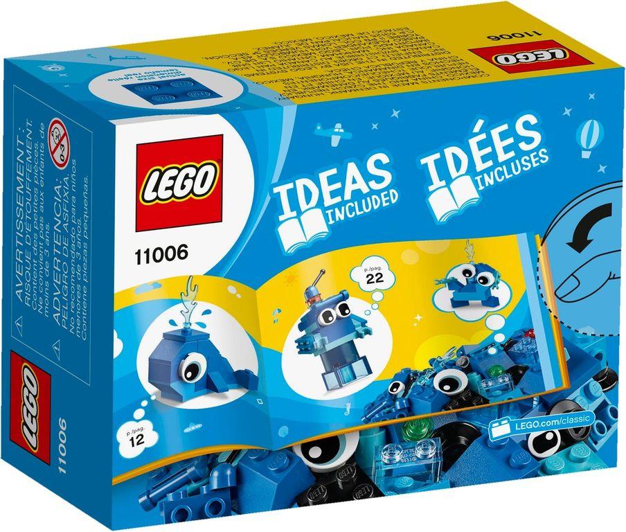 LEGO® Classic Creative Blue Bricks back of the box
