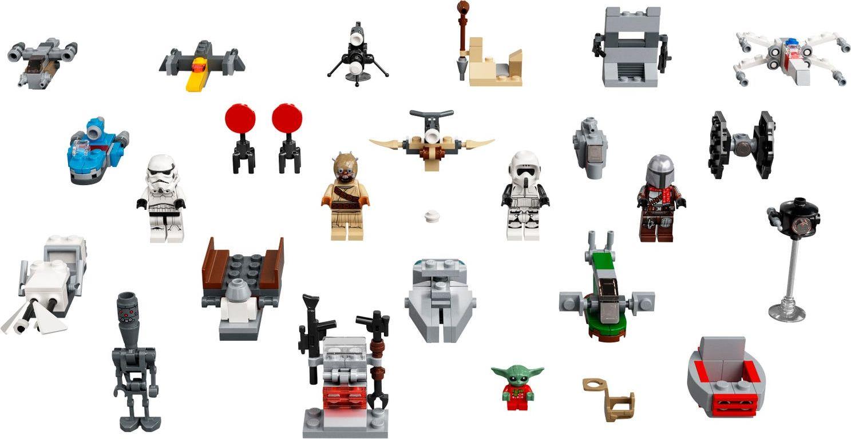 LEGO® Star Wars Advent Calendar 2021 components