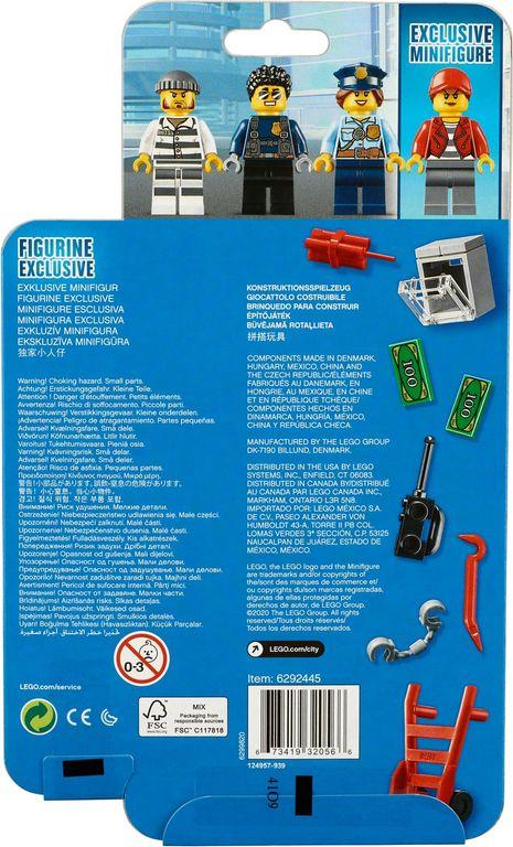 LEGO® City Police MF Accessory Set back of the box