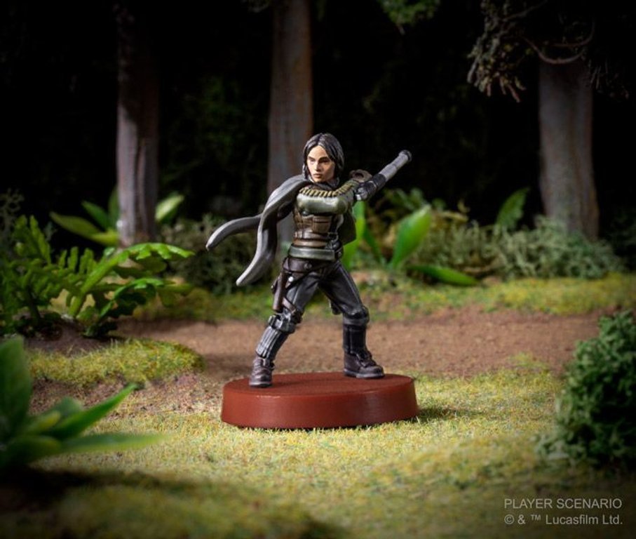 Star Wars: Legion – Jyn Erso Commander Expansion miniature