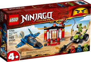 LEGO® Ninjago Storm Fighter Battle