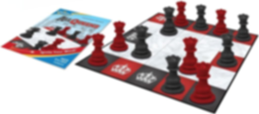 All Queens Chess components