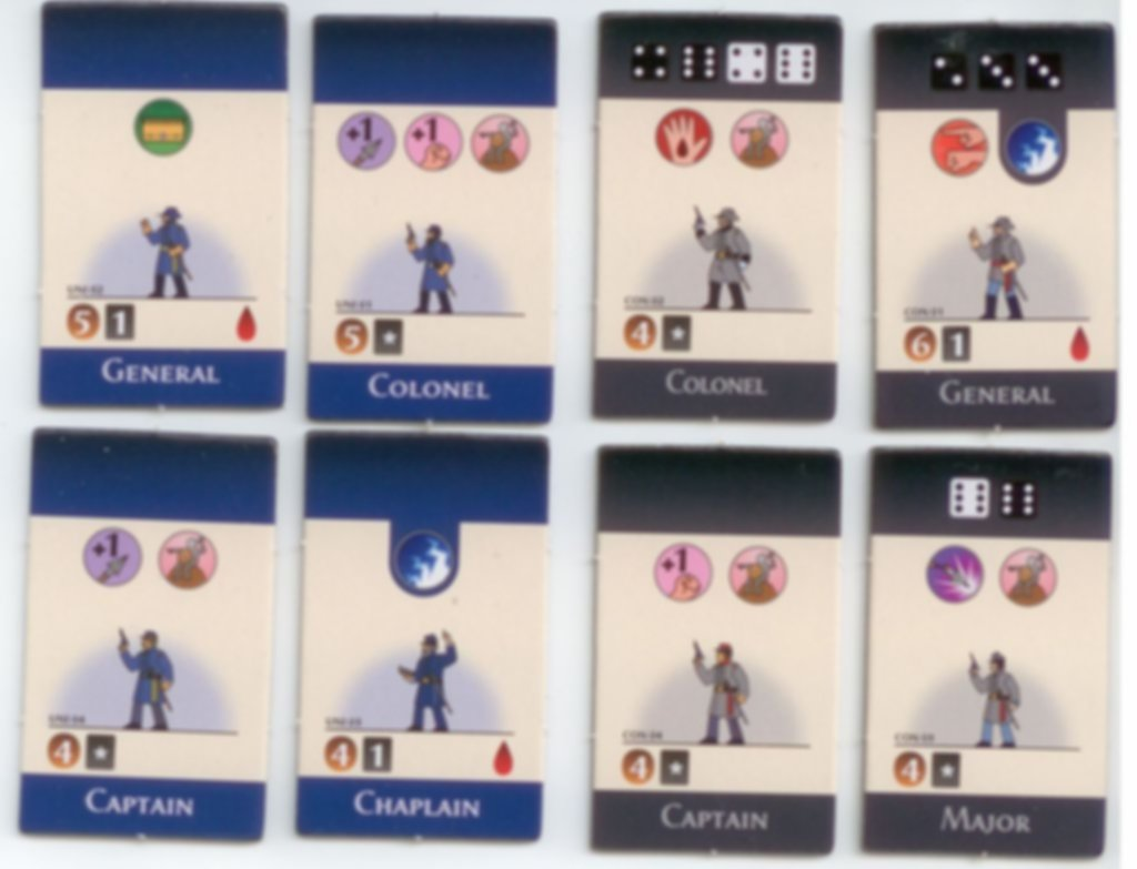Pocket Battles: Confederacy vs Union cards