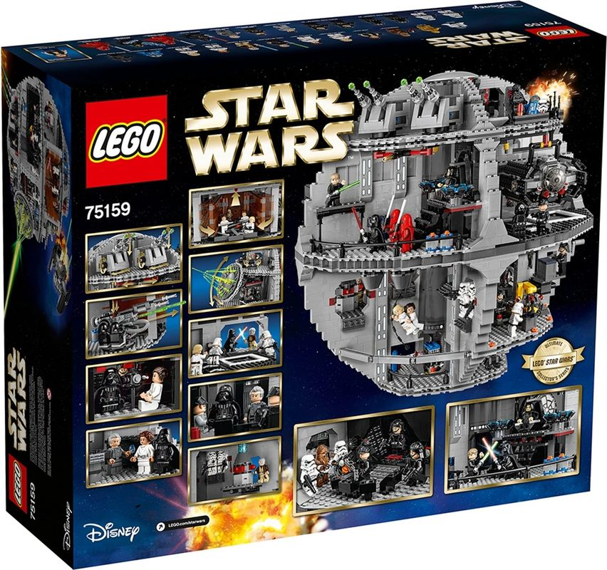 Death Star™ back of the box
