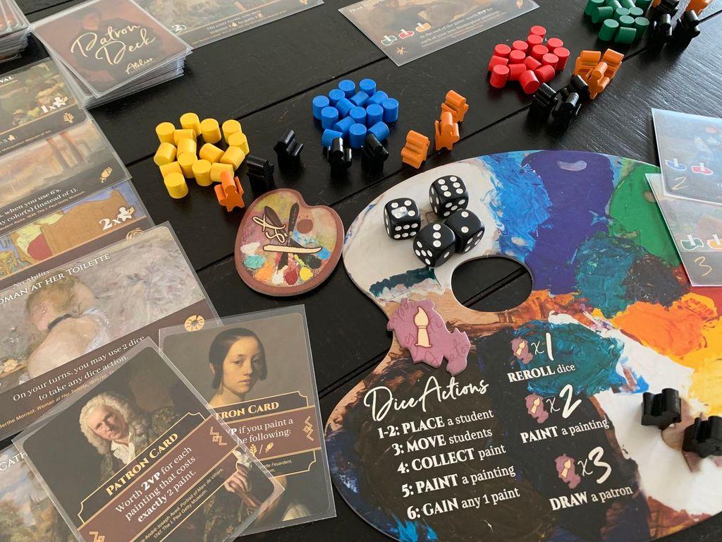 Atelier: The Painter's Studio gameplay
