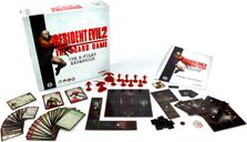 Resident Evil 2: The Board Game - B-Files Expansion components