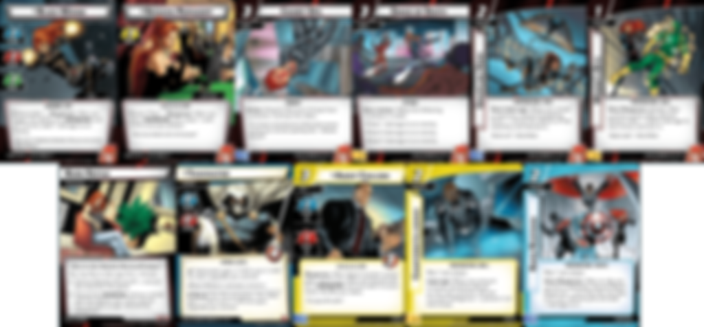 Marvel Champions: The Card Game - Black Widow Hero Pack cards