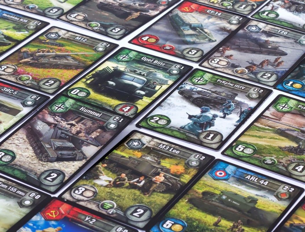 World Of Tanks Rush cards