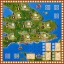 Lancaster: Big Box game board